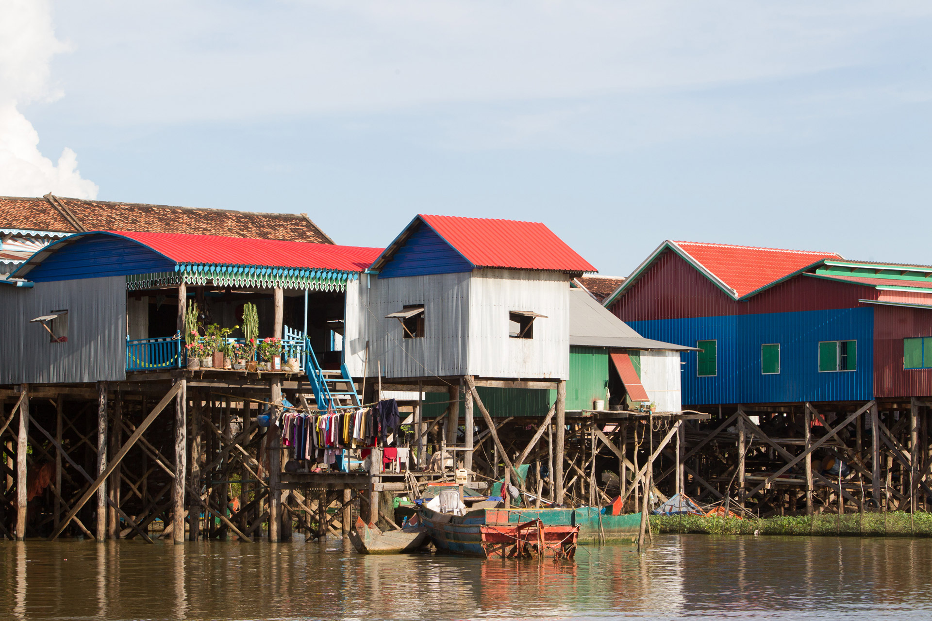 Floating Village Stilted Homes